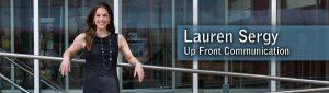 Lauren Sergy | Up Front Communication